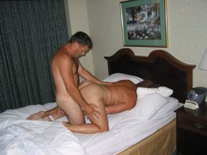 Casual sex in a hotel room at the resort