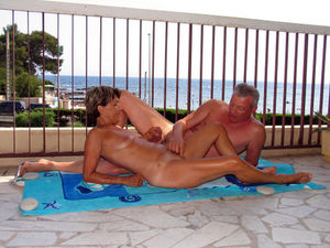 Mature couple Swingers sex tourism Cap..