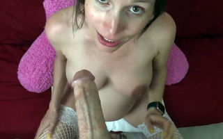 Pregnant MILF pussy fucked and..