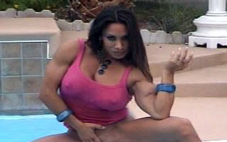 Hardbody Female By The Pool Side Part 1