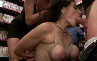 Hot MILF With Big Tits Gets Disgraced..