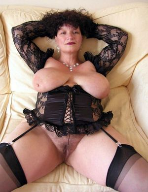 Mature aged housewives walking nude at..