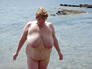 Fat grannies sunbathing fully naked,..
