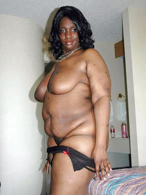 Black granny wanted big dick and she..