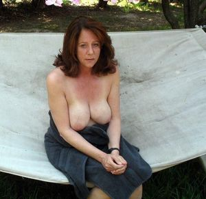 Hairy mature women nudists in these..