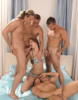 Nacho Vidal and three other Fuckers..
