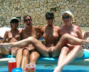 Big titted mature nudists photos from..