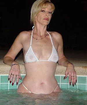 Almost naked mature wives in amateur..