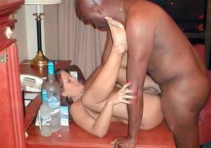 Large African guys fuck white sexwife..