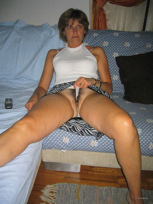 Mature lady friend revealing her moist..