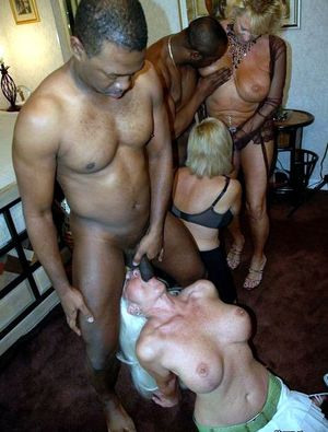 Black brothers fucking a white wives,..