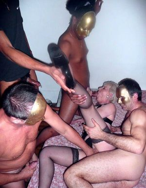 Biggest gangbang only, mature fucked off