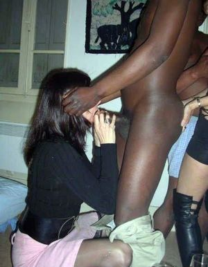 Insatiable milf and a big black cock...